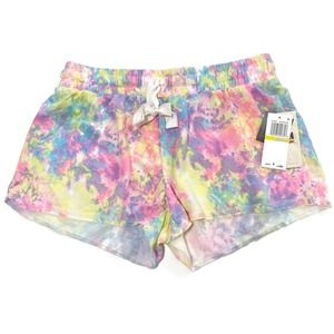 Miken Juniors' Tie-Dyed Cover-up Shorts~M